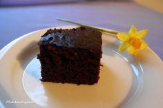 Helppo ja mehevä suklaakakku (*maidoton, munaton*)