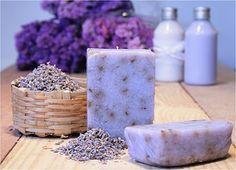Img dahttp://oficinadoaroma Pefumado o sabonete artesanal de lavanda ou de alfazema...