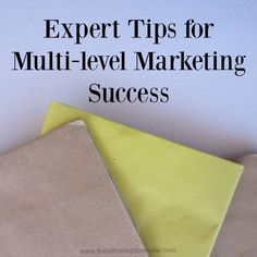 Do you want to become a raging success with multi-level marketing? My  experts will show you how they created success and you can, too.