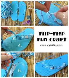 Craft Hope Project 22:  Flip-Flop Fun Craft