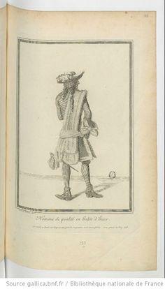 Homme de qualité en habit d'hiver : [estampe] / I.D. de St Jean delin. - 1678