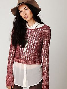 Caldra Layer Pullover #freepeople #fashion♡