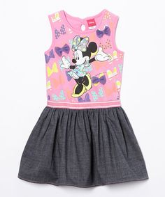 Look what I found on #zulily! Minnie Mouse Dress - Girls by Minnie Mouse #zulilyfinds