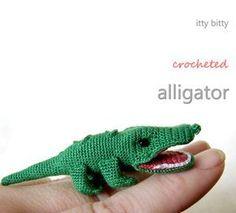 Amigurumi Alligator - FREE Crochet Pattern / Tutorial