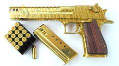 Here is a custom Titanium Nitride coated gun for a customer.