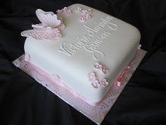 cute butterfly cake