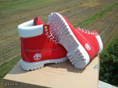 buy the red timberland boots for my boyfriend