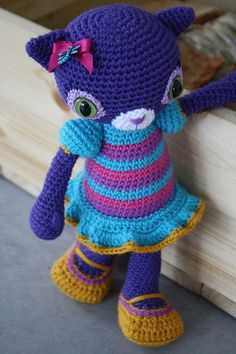 Amigurumi cat Hilda Hilpharakas | NOW THERE IS A PATTERN OF … | Flickr