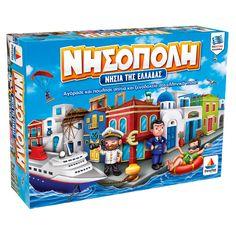 """Επιτραπέζιο παιχνίδι """"Νησόπολη (Νησιά της Ελλάδας)"""""""