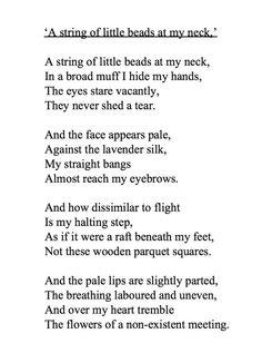 Akhmatova Poems 2