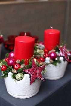 Weihnachtsgestecke 2015 Teil II - Fachgroßhandel für Floristikbedarf, Deko & Wohnaccessoires