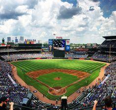 Braves Baseball, Baseball Field, Turner Field, Instagram Accounts, Instagram Posts, Moment Of Silence, Atlanta Braves, Orlando, In This Moment