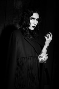chelsea Wolfe Nero Journal PHOTOGRAPHY: Ira Chernov