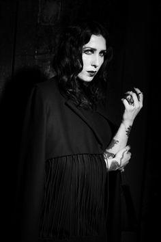 chelsea Wolfe Nero Journal PHOTOGRAPHY: Ira Chernov