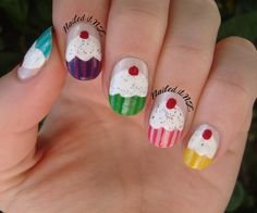 cupcake fingernails - Google Search
