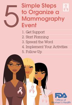 It's Breast Cancer Awareness Month. Follow these steps from our Pink Ribbon Sunday Guide to organize a mammography event in your community.