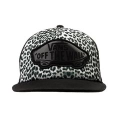 Shop for Vans Beach Girl Snow Leopard Hat in Black White at Journeys Shoes. Shop today for the hottest brands in mens shoes and womens shoes at Journeys.com.Trucker hat swag with some sassy snow leopard. Vans Beach Girl snapback with front logo and mesh back, Available for shipment in July; pre-order yours today!