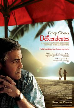 Cartaz do filme indicado ao Oscar 2012, Os Descendentes.