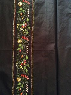 Kantha work border design