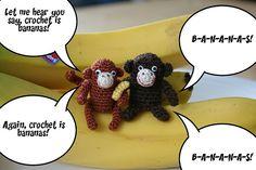 My Little Mochi - Crochet is bananas