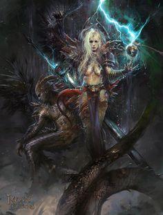 Fallen queen by TheBastardSon on deviantART