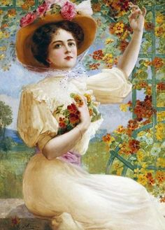 A Summer Beauty, Emile Vernon