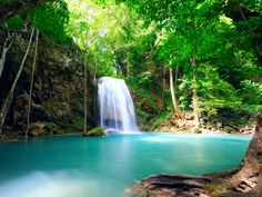 Swim in one of Costa Rica's natural pools.
