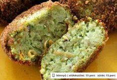 Brokkolifasírt zabpehellyel Baby Food Recipes, Diet Recipes, Cooking Recipes, Healthy Recepies, Good Food, Yummy Food, Vegas, Greens Recipe, Vegetable Recipes