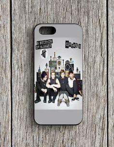 5 Seconds Of Summer Amnesia Cover Album iPhone 5   5S Case