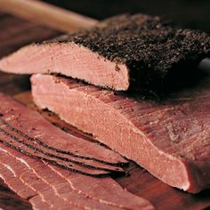 Pastrón Homemade Pastrami, Homemade Sausage Recipes, Specialty Meats, Pork Ham, Colombian Food, Salty Foods, Smoking Meat, Charcuterie, Diy Food