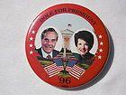 Bob Dole for President Campaign Button 1996 ~ Elizabeth pin white house 96 - 1996, Button, Campaign, Dole, Elizabeth, HOUSE, PRESIDENT, WHITE
