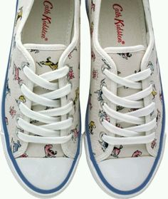 Cath-Kidston-Slim-Plimsolls-Bill-and-Friends-Size-36-EU-New-with-Tag
