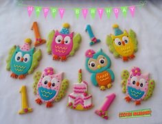 Birthday Owls | Cookie Connection