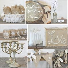 Love burlap for Fall...and for everything else!