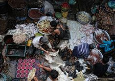 """Asia-Pacific Regional Winner – """"Poultry Prepared for Market"""" by Peter Graney, taken in Phnom Penh, Cambodia 