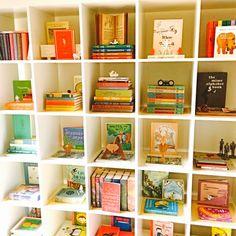Modern Nursery Bookcase Display - Project Nursery