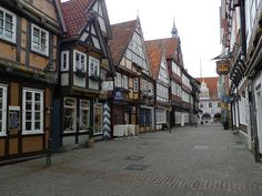 Celle, Germany. Alte Celle, a lovely place to wander