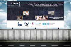 Grafická návrh billboardu pre APPEL Group s.r.o.