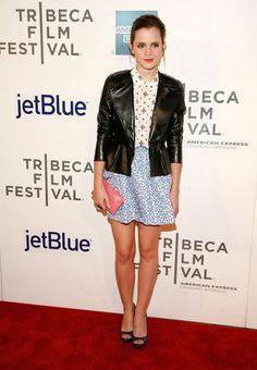 Yo creo que Emma Watson está a la moda..
