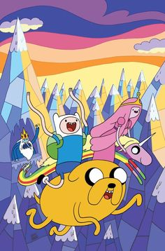 Adventure Time is a comic book series published by BOOM! Studios, written by Dinosaur Comics...