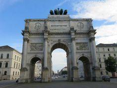 Siegestor (victory gate) - Munich, Germany