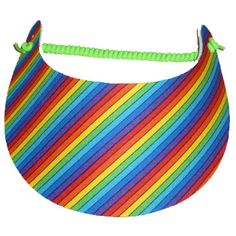 Gay Pride Visors from www.RainbowDepot.com https://www.rainbowdepot.com/Sport-Accessories_c_19.html #gaypride #rainbowdepot #pride #rainbowvisor #gaypridevisor