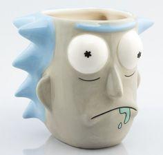 Taza Rick Sanchez Rick and Morty Coffee Mug Sets, Mugs Set, Coffee Cups, 3d Design, Ricky Y Morty, Rick Und Morty, Creative Coffee, Novelty Mugs, Cute Cups