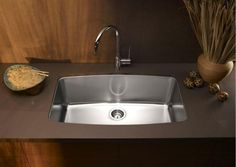 10 Pictures That Will Change Your Mind About Stainless Steel Sinks: Blanco Gives Stainless Steel Sinks a Whole New Shape