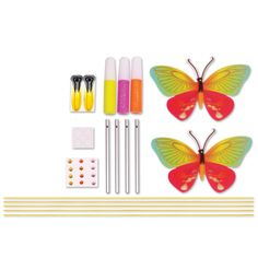 Creativity for Kids Butterfly Wind Chime Mini Craft Kit, Butterfly Wind Chime, Mini Craft, Creative Kids, Craft Kits, Wind Chimes, Toys, Creativity, Black Butler, Crafts