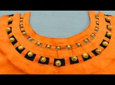 Pearl Boat Neck Design for Kurti | Latest Neck Designs | BST - YouTube