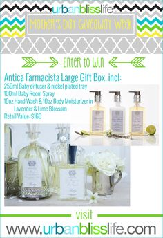 Mother's Day Giveaway Week: Antica Farmacista Large Luxury Gift Box |