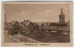 Schlachthof Königsberg ehemalige Deutsche Gebiete, Ostpreussen