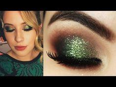 Nice Maquiagem Natalina Verde Niina Secrets - Christmas Makeup Tutorial