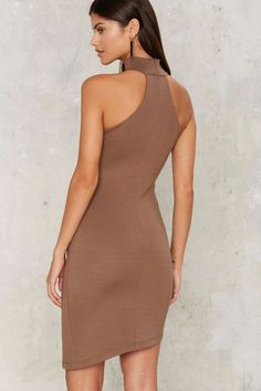 Nasty Gal Ronan Asymmetric Dress - Clothes | Going Out